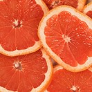 Close_up of slices of grapefruits