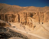 Valley of the Kings, Thebes, UNESCO World Heritage Site, Egypt, North Africa, Africa