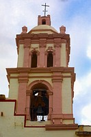 High section view of a church, Iglesia De Nuestra Senora De Belen, Real De Asientos, Aguascalientes, Mexico
