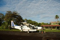 Tortuguero Airport, Tortuguero National Park, Costa Rica, Central America