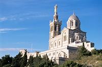 Notre Dame de la Garde, Marseille, Bouches_du_Rhone, Provence, France, Europe