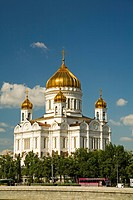 Christ the Savior Cathedral Moscow, Russia, East Europe, Europe