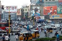 Street scene, Hyderabad, India