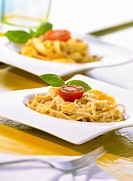 Tagliatelle with walnut sauce