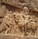 Triumph of Shapur I, Sassanid ruler, Naqsh_e Rustam, Iran, Middle East