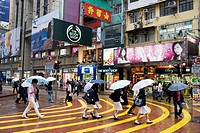 Causeway Bay district, Hong Kong, China