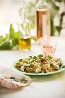 Chicken, Watercress and Walnut Salad