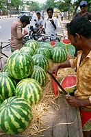 Water melons, south India, India, Asia