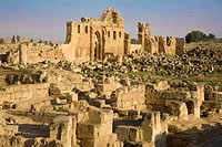 Ruins of Ulu Cami built int he 8th century by Marwan II, the last of the Umayyad caliphs, Harran, Anatolia, Turkey