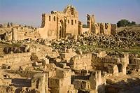 Ruins of Ulu Cami built int he 8th century by Marwan II, the last of the Umayyad caliphs, Harran, Anatolia, Turkey