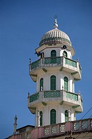 Bhadala Mosque and minaret, Old Town, Mombasa, Kenya, East Africa, Africa