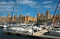 Harbour. Valletta. Republic of Malta.