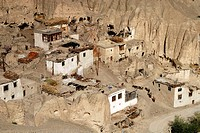Lamayuru monastery is one of the oldest monasterys in Ladakh. The area of the Valley of the Moon near Lamayuru in Ladkh, India was a former lake. Afte...