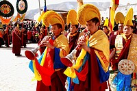 every year traditional Tibetan Buddhas Thangka festival in Gansu Labulengsi celebrate.this is tibetan very holy and important festival