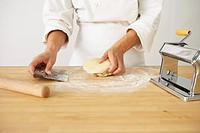 Making Pasta Dough: Working the Dough