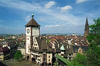 Schwabentor, Freiburg, Baden_Wurttemberg, Germany, Europe