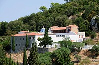Monastery Prodromos, Skopelos, Sporades Islands, Greek Islands, Greece, Europe
