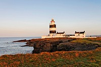 Lighthouse of Hook´s Head which is dating back to the 13.th century, County Wexford, Ireland
