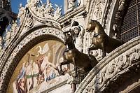 St. Mark´s Basilica, Venice, UNESCO World Heritage Site, Veneto, Italy, Europe