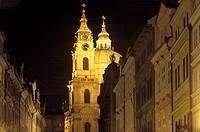 Prague, church St. Niklas