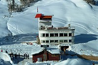 Cresta Run Club House, St. Moritz, Switzerland, Europe