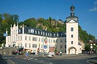 D-Bendorf, Rhein, Mittelrhein, Westerwald, Rheinland-Pfalz, Bendorf-Sayn, Schloss Sayn, Barock, Neugotik, Baumeister Francois Joseph Girard, Rheinisch...