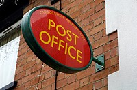 Sign Post Office in Chudleigh Knighton Devon England