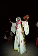 Day of the Dead costume parade, Oaxaca, Mexico, North America
