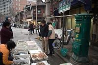 At Minheng Road, Shanghai, China
