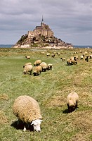 Mont Saint-Michel. Normandy, France