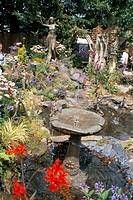 Hampton Court Palace Flower Show 2002, Hampton Court, England, United Kingdom, Europe