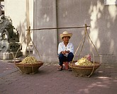 Peanut seller, Thailand, Southeast Asia, Asia