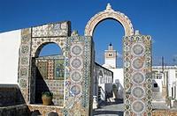 Terrace du Palais d´Orient, Tunis, Tunisia, North Africa, Africa