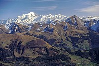 Aravis, Mont Blanc, Haute-Savoie, Alpes, Alps (thumbnail)