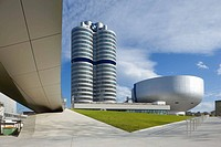 BMW company headquarters. Bavaria. Germany
