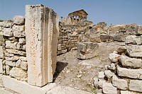 Ancient Roman city of Thugga Dougga, UNESCO World Heritage Site, Tunisia, North Africa, Africa