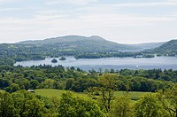 Lake Windermere, Lake District National Park, Cumbria, England, United Kingdom, Europe
