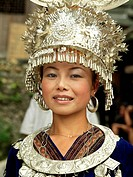 Miao woman, China