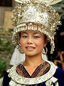 Miao woman, China