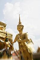 Temple Wat Phra Kaew, Bangkok, Thailand, Southeast Asia, Asia