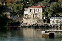 A small bay on the Pelion peninsula Greece