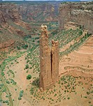 Spider Rock, Canyon de Chelly, Arizona, USA