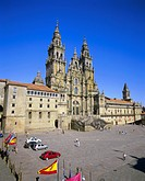 Catedral del Apostol, the cathedral, Santiago de Compostela, UNESCO World Heritage Site, Galicia, Spain, Europe