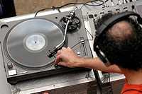 DJ at Gasyard Feile Londonderry / Derry