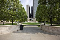 Millennium Monument, Millennium Park, Chicago, Illinois, United States of America, North America