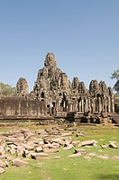 Bayon Temple, Buddhist, Angkor Thom, Angkor, UNESCO World Heritage Site, Siem Reap, Cambodia, Indochina, Southeast Asia, Asia