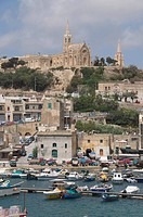Port of Mgarr, Gozo, Malta, Mediterranean, Europe