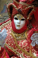 Mask at the Carnival of Venice