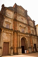 The Basilica of Bom Jesus, built 1594, Old Goa, Goa, India
