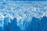 Aerial view of icebergs at Moreno Glacier Perito Moreno, Parque Nacional Los Glaciares, UNESCO World Heritage Site, Patagonia, Argentina, South Americ...